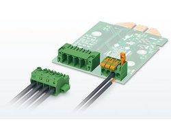 Terminale przyłączeniowe i złącza wtykowe do PCB - zdjęcie