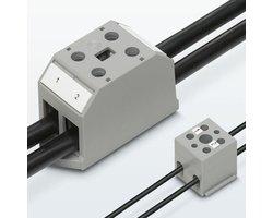Bloki rozdzielaczy z przyłączami śrubowymi i bloki przyłączeniowe - zdjęcie