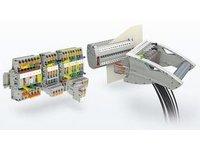 Złączki szynowe do systemów zabezpieczeń i sterowania - zdjęcie