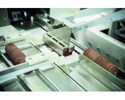System Bosch Pack 301 LS do pakowania ciastek ułożonych na krawędzi - zdjęcie