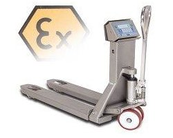 System wagowy na wózku paletowym do pracy w strefie EX zagrożonej wybuchem - zdjęcie