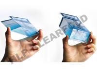 Przezroczyste opakowania Klearfold® AUTO BOTTOM - zdjęcie