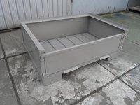 Pojemnik blaszany z metalową podłogą PX-500B-1-B - zdjęcie