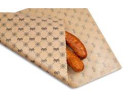 Papier pakowy powlekany PE 50 kg z indywidualnym nadrukiem - zdjęcie