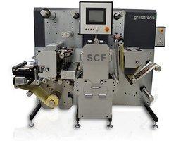 Kompaktowa sztanca do etykiet Grafotronic SCF - zdjęcie