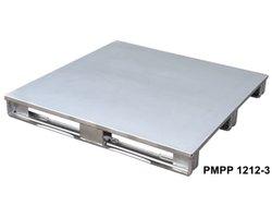Palety stalowe z płaskim blatem typ PMPP - zdjęcie