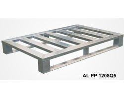 Palety aluminiowe na płozach - zdjęcie