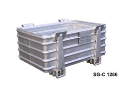 Pojemniki metalowe do dużych obciążeń typ SG-C - zdjęcie
