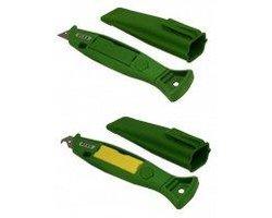Nóż zielony - zdjęcie