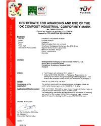 Certyfikat TUV AUSTRIA - zdjęcie