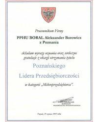 Gratulacje od Marszałka Województwa Wielkopolskiego - zdjęcie
