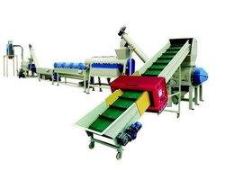 Linia do mycia odpadów z tworzyw sztucznych 200-250 kg/h - zdjęcie