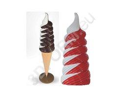 Makiety lodów - figura loda świderka 3DFORM - zdjęcie