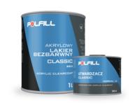 Akrylowy lakier bezbarwny Classic 2K HS 2:1 Polfill® - zdjęcie