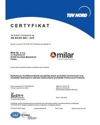 Certyfikat DIN EN ISO 9001:2015 - zdjęcie