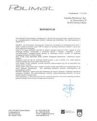 Referencje POLIMAT Roman Brejecki - zdjęcie