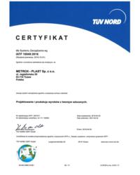 Certyfikat IATF 16949:2016 - zdjęcie