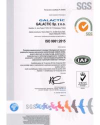 Certyfikat ISO 9001:2007 - zdjęcie