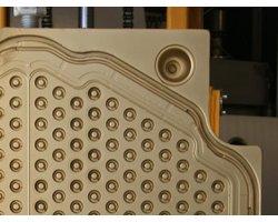 Nanoszenie, nakładanie powłok PVD i PECVD na wypychacze, wtryskiwacze, ślimaki, elementy form, wtryskarek - zdjęcie