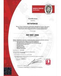 Certyfikat ISO 9001:2008 - zdjęcie