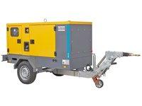 Przewoźne generatory prądu serii QAS lub QES do pracy ciągłej - zdjęcie