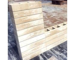 Ogrodzenia betonowe gładkie ROYAL SLIM - zdjęcie