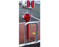 Odbojnica parkingowa bramka - zdjęcie