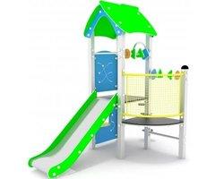 Urządzenie zabawowe Wieża z dachem nr kat 0112 - zdjęcie