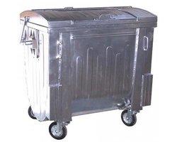 Pojemnik metalowy na odpady komunalne 1100-1Z - zdjęcie