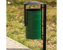 Kosz Miejski na śmieci pojemność 30L - zdjęcie