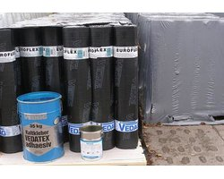 Papy termozgrzewalne nawierzchniowe VEDATECT EUROFLEX PYE PV 250 S5 - zdjęcie