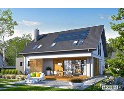 Projekty domów z poddaszem - zdjęcie