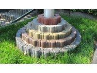 Palisada okrągła z zamkiem - zdjęcie