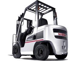 Wózek widłowy czołowy NISSAN serii LX (1F2) (3,5 tony) - zdjęcie