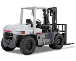 Wózek widłowy czołowy NISSAN serii ZX (6-8 ton) - zdjęcie