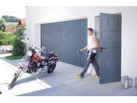 Drzwi garażowe o konstrukcji aluminiowej g60 Trend - zdjęcie
