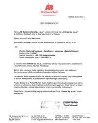 Referencje - AB Budownictwo (2012) - zdjęcie