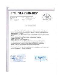 Referencje Marwid-bis (2010) - zdjęcie