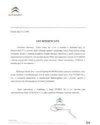 Referencje Citroen (2009) - zdjęcie