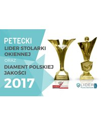 Lider Stolarki Okiennej oraz Diament Polskiej Jakości 2017 - zdjęcie