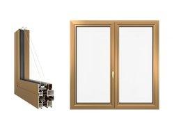 Okno aluminiowe ALU Impressive Imperial 65 - zdjęcie