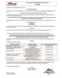 Deklaracja właściwości użytkowych - Belka stropowa RS138 - zdjęcie