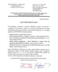 List referencyjny LEGUTKI I KRASOŃ - zdjęcie