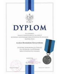 Odznaka honorowa za zasługi dla rozwoju gospodarki - zdjęcie