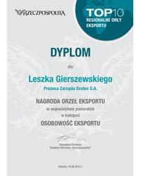Orły Eksportu dla Prezesa Leszka - zdjęcie