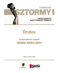 DRUTEX FIRMA ROKU 2014 - Pomorskie - zdjęcie
