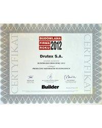 Builder - Budowlana Firma Roku 2012 - zdjęcie