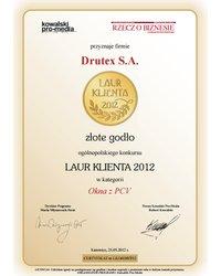 Złoty Laur Klienta 2012 - zdjęcie