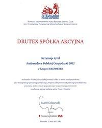 Ambasador Polskiej Gospodarki 2012 - zdjęcie