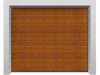Segmentowe bramy garażowe TREND, panel S - zdjęcie